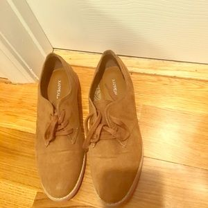 Size 9  X-Appeal Brown & Pink Shoes